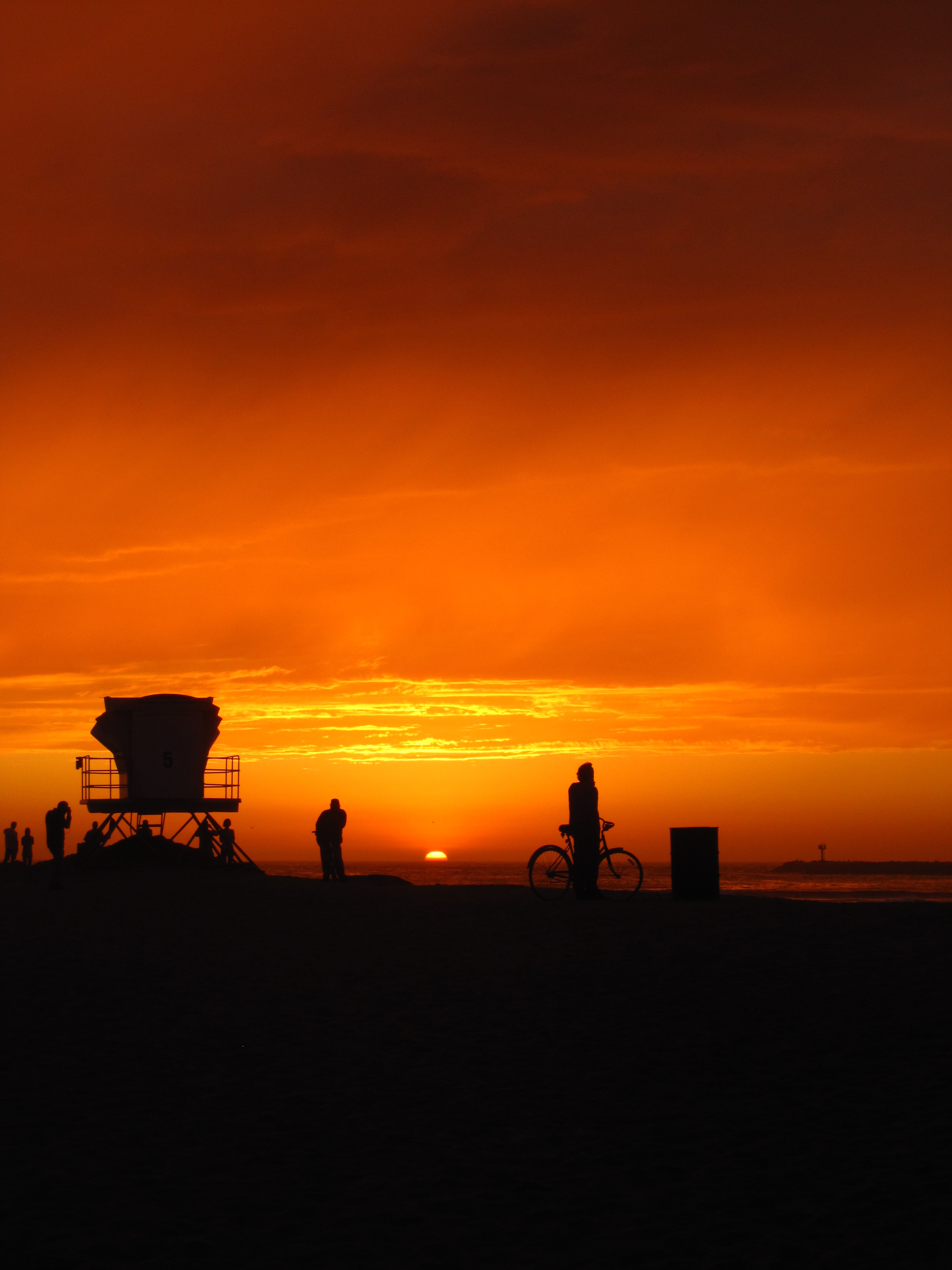 Ocean Beach California Sunset
